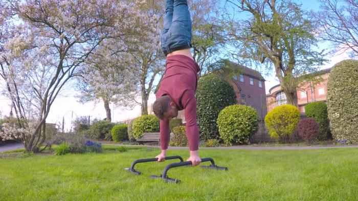 handstands calisthenics meditation yoga personal training teacher stress coping