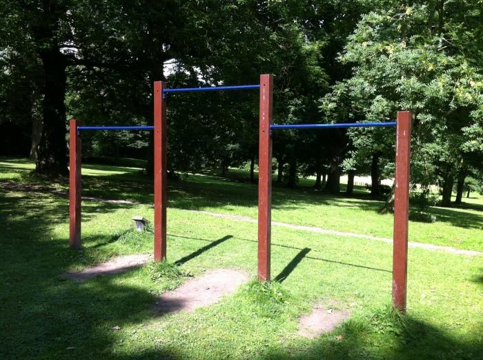 pull up bars calisthenics leeds bramley fall park